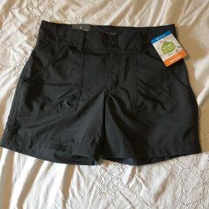 Columbia Omni-Shield Shorts NWT size 2 Dark Grey